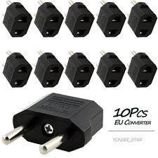 10PCS US / AU zum EU-Spielraum-Konverter Wechselstrom Stecker Ladegerät Adapter