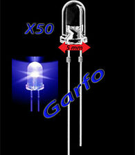 50X Diodo LED 5X9 mm Azul 2 Pin alta luminosidad