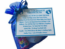 Brother To Be Survival Kit Gift Baby Shower Gift Favour