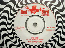 "The Dixie Cups - Iko Iko / Gee, Baby Gee   7"" Red Bird  UK Pressing   Girl Group"