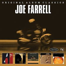 JOE FARRELL - ORIGINAL ALBUM CLASSICS 5 CD NEU