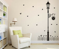 Street Lamp Removable Wall Art Sticker Vinyl Decals DIY Room Home Mural Decor