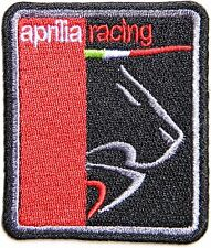 aprilia Motorcycle Racing Patch Embroidered Iron on Jacket Suit Vest Logo Badge