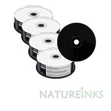 100 Mediarange Fondo Nero CD-R Vergine dischi Lato Completamente Bianco