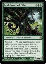 LEAF-CROWNED ELDER Morningtide MTG Green Creature — Treefolk Shaman RARE