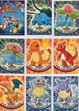 Complete Topps Pokemon Series 1 - Set of 90 New Blue Logo cards -  TV Animation!