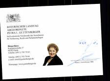 Petra Guttenberger Autogrammkarte Original Signiert  ## BC 76488