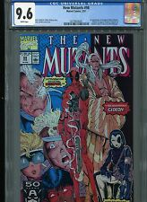 New Mutants #98  (First Deadpool)  CGC 9.6  White Pages