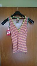 Ladies Singlet 'Miss Sixty' Piper Singlet - Size Small or Medium (January Sale)