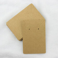 100pcs Necklace Earring Display Card Jewelry Display Package Hang Cards 6*9cm