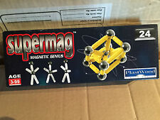 SUPERMAG MAGNETIC GENIUS 24 PZ VINTAGE NEW!!!!!!!!!!