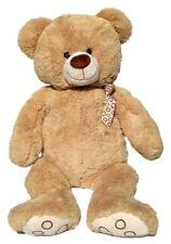 XL TEDDYBÄR 55 cm gross beige Plüschbär Teddy Plüsch Plüschtier Bär Kuschelbär