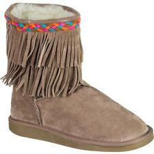 Ukala Women's Noelle Low Taupe Boot W80105 Size 9 M
