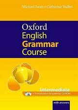 Oxford English Grammar Course: Intermediate: with Answers CD-ROM Pack, Swan, Mic