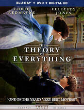 The Theory of Everything (Blu-ray/DVD, unused digital copy With Slipcover