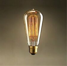 Vintage Edison Tungsten Decorative Filament Bulb - Warm Cozy Lighting