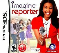 NINTENDO DS IMAGINE REPORTER BRAND NEW GIRLS VIDEO GAME