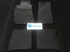 MAZDA RX-8 04-11 ALL WEATHER RUBBER FLOOR MATS NEW GENUINE OEM MAZDA