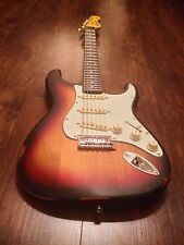 NEW VINTAGE V6MRSSB ICON SERIES DISTRESSED SUNSET SUNBURST ELECTRIC GUITAR