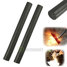 2pcs Huge 1/2 x5 Ferrocerium Rod Flint Fire Starter Magnesium Kits Outdoor Black