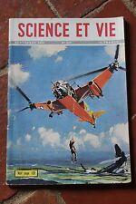 SCIENCE ET VIE N°396 1950 aviation astronomie exploration sous marine