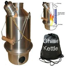 GHILLIE KETTLE OUTDOOR CAMPING 1.5L ADVENTURER - SILVER