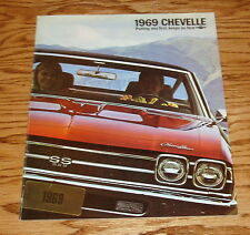 1969 Chevrolet Chevelle Sales Brochure 69 Chevy