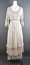Nataya Titanic Dress Victorian Romantic Vintage Looking Dresses Dusty Pink 1X