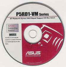 ASUS P5RD1-VM Motherboard Drivers Installation Disk M653