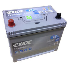 EXIDE PREMIUM Superior Power EA 755 12V 75AH Starter battery EN (A): 630