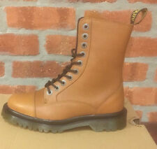 DR. MARTENS JUSTYNA TAN CAMBRIDGE (CBG)   LEATHER  BOOTS SIZE UK 3
