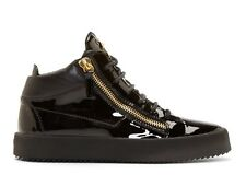 Giuseppe Zanotti Patent Black EU42 UK8 US9 100%Authentic