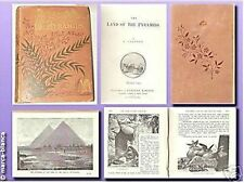 Traumhafte Rarität: Egypt - Land of the Pyramids - Jugendstil (J. Chesney) 1896