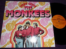"""THE MONKEES """"Here Come The Monkees """"  1983 UK LP   RDS 10063"""