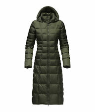 The North Face Women's TRIPLE C II PARKA 550-Fill Goose Down Coat Jacket M Green