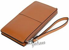 Genuine Leather Wallet Yahoho Women's Large Capacity Luxury With Zipper IPhone 6