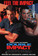 DOUBLE IMPACT Movie POSTER 27x40 B Jean-Claude Van Damme Cory Everson Geoffrey