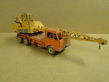 VINTAGE DINKY SUPERTOYS MADE IN ENGLAND N° 972 / 20 TON LORRY-MOUNTED CRANE