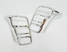 CHROME COVER TAIL LIGHT LAMP TRIM LH+RH FOR MITSUBISHI L200 TRITON 2015+ PICKUP