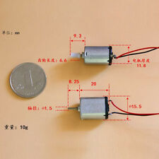 10Pcs New FF-030PK-08300 DC1.5V-12V Micro Motor With Endless Screw & Long Cable
