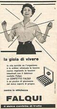 W8705 FALQUI il dolce confetto di frutta - Pubblicità del 1958 - Vintage advert
