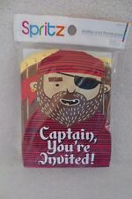 Boy Pirates Captain Birthday Party Invitations With Thank You Notes new