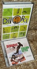 DIVORCE ITALIAN STYLE CRITERION COLLECTION DVD, NEW & SEALED,+ SOUNDTRACK CD,NEW