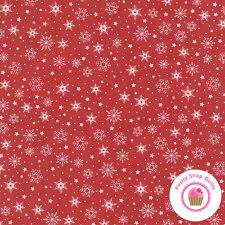 Moda COOKIE EXCHANGE 5626 22 RED Sweetwater FABRIC BY HALF YARD Christmas