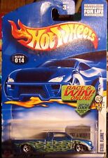 Hot Wheels 2002 Steel Flame Truck #014 1:64 Diecast