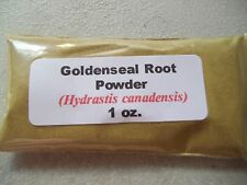 1 oz. Goldenseal Root Powder (Hydrastis canadensis)