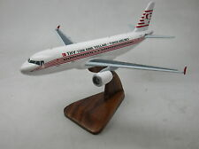 A-320 Turkish Airlines Airbus 320 Airplane Desk Wood Model Small New
