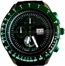 Mark Naimer MN2014, Men's Sports Watch, Silicone Band, Rotating Bezel