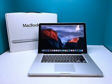MacBook Pro 15 inch Pre-Retina *Quad Core i7 2.0Ghz* DVD/RW 16GB RAM 1TB SSHD!