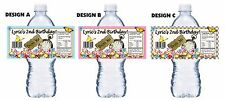 20 TRULY ALICE IN WONDERLAND ORIGINAL BIRTHDAY PARTY FAVORS WATER BOTTLE LABELS